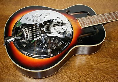 AZALEA Resonator Acoustic Guitar. Premium Edition. Great Sound