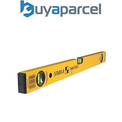 Stabila 96-2 600mm 24inch with 96-2 1200mm 48inch Double Plumb Ribbed Box Section Level