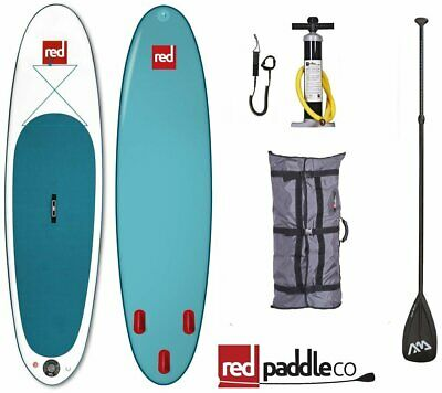 Red Paddle Co ISUP Set 10.6' STAND UP PADDLE SURFBOARD AUFBLASBAR PADDEL PUMPE