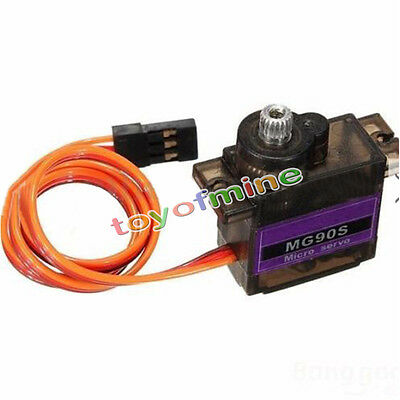 MG90S Metal Gear High Speed Micro Servo for RC Car Helicopter Plane