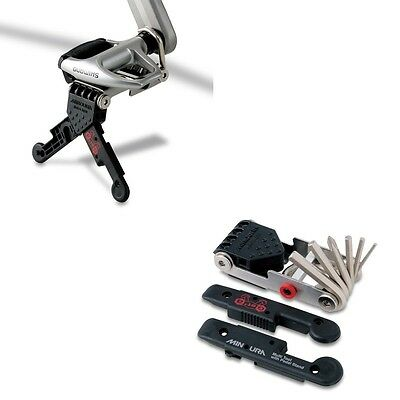 Minoura HPS-9 Smart Pedal Stand and Folding Tool with 9 multipurpose tools