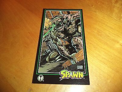 Spawn Territory # 90 - 1995 Wildstorm Spawn Widevision Base Trading Card