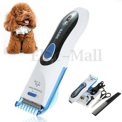 Animal Pet Dog Cat Hair Cutting Trimmer Shaver Razor Grooming Clipper Shaver