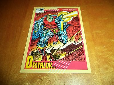 Deathlok # 16 - 1991 Marvel Universe Series 2 Impel Base Trading Card