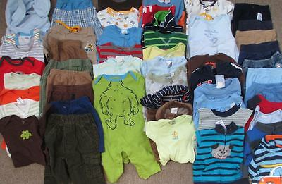 Huge lot of BOYS size 0-3 months clothing