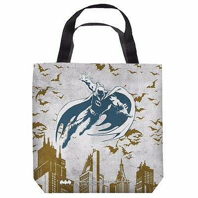 Batman City Vibe DC Comics Officially Licensed Tote Bag 2 Sided Print