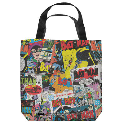 Batman Fan DC Comics Officially Licensed Tote Bag 2 Sided Print