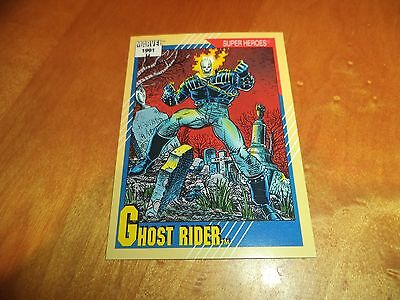 Ghost Rider # 39 - 1991 Marvel Universe Series 2 Impel Base Trading Card