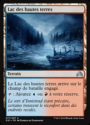 MTG Magic SOI - (x4) Highland Lake/Lac des hautes terres, French/VF