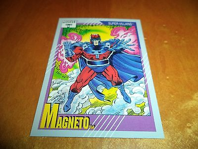 Magneto # 57 - 1991 Marvel Universe Series 2 Impel Base Trading Card