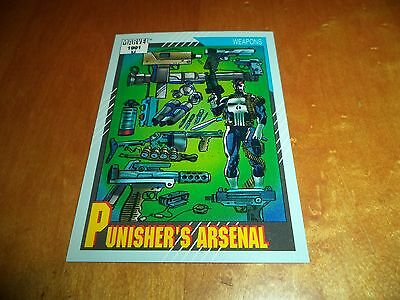 Punisher's Arsenal # 132 - 1991 Marvel Universe Series 2 Impel Base Card