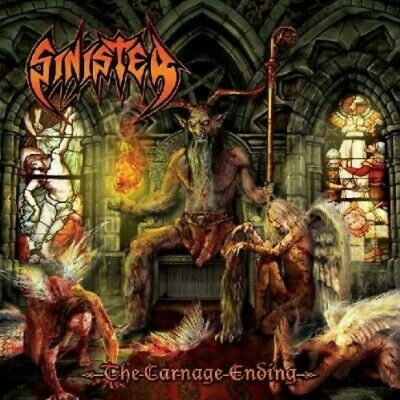 Sinister - The Carnage Ending [New CD]