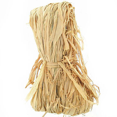 3.37 Pounds Of Natural Raffia Hanks New In Package