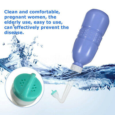 400ml Portable Bidet Cleaner Personal Feminine Washer Hygiene Bottle Toilet New