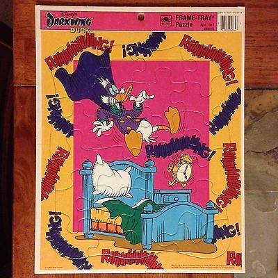 Darkwing Duck, Golden Books Large Frame-Tray Puzzle, 22 pieces