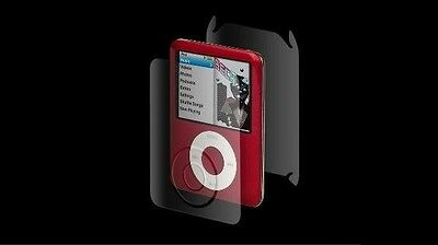 Apple iPod NANO 3rd Gen ZAGG invisibleShield Maximum Coverage