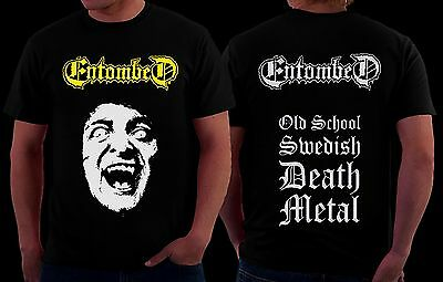Entombed-  Swedish death metal band, T_shirt - SIZES:S to 6XL