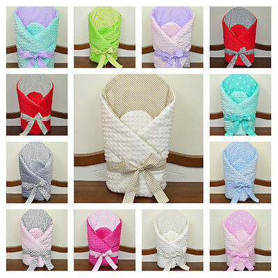 Baby Newborn Wrap/ Purple/Pink/Blue/Beige/ Nursery/Must have/plush/gift