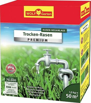 dry-grass Premium L-TP 50, by Wolf Garten, Lawn seed for 50 m²