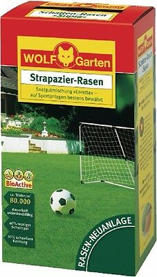 Strapazier-Rasen LJ 100, by Wolf Garten, Lawn seed for 100 m²