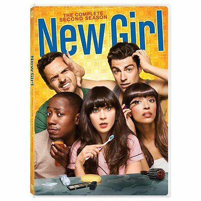 New Girl: The Complete Second Season (DVD, 2013, 3-Disc Set) NEW
