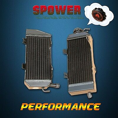 Black Aluminum radiator FOR Honda CRF450 CRF450R 09 10 11 12 2009 2010 2011 2012