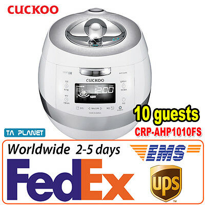 10 Cups CUCKOO CRP-AHP1010FS Smart IH Pressure Rice Cooker English Chines Voice