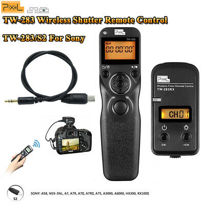 PIXEL TW-283/S2 Wireless Shutter Release Timer Remote for Sony A7 II A6000