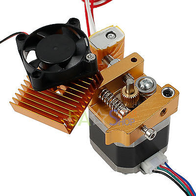 3D printer MK8 Extruder Hotend 0.4mm Nozzle For 1.75mm PLA/ABS MakerBot Bowden