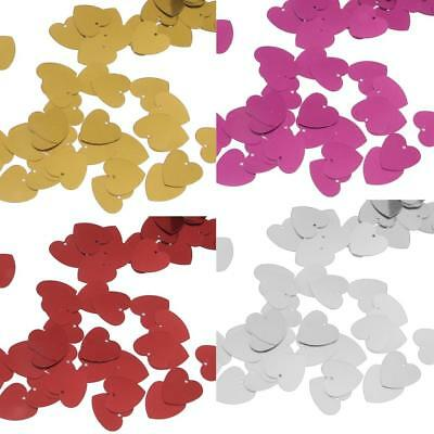 Wedding Engagement Party Sparkle Heart Confetti Table Decoration Birthday 14mm