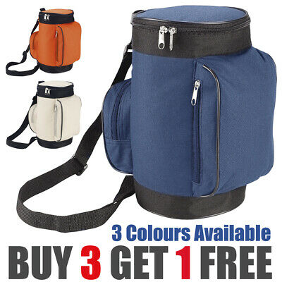 Cool Cooler Bag School Picnic Lunch Box Insulated Small Thermal Caddy Golf Carry