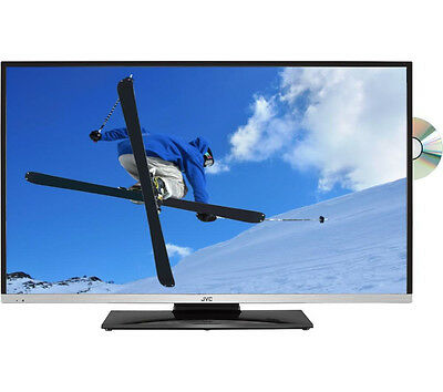"JVC LT-32C655 Smart 32"" LED TV with Built-in DVD Player HD Ready 720p Black"
