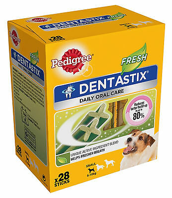 Pedigree Dentastix Fresh Dental Treat Small / 28 Pack