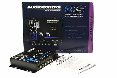 AudioControl 2XS Black - Concert Series Two Way Crossover