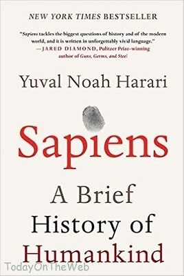 Sapiens A Brief History of Humankind Hardcover by Yuval Noah Harari