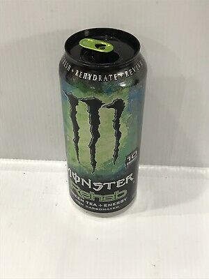 Monster Energy Drink Rehab Green Tea 15.5oz Sealed Discontinued Can. 1 Unit