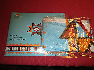 Cheyenne River Outreach sealed shrink wrapped blanket no date promotion