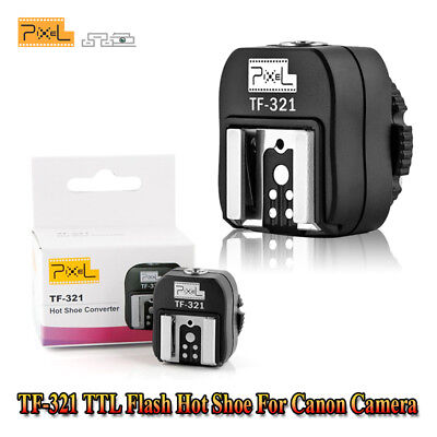 Pixel TF-322 ITTL TTL Hot Shoe Converter Adapter to PC Sync Socket for Nikon