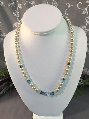 Lovely Vintage To Now Beaded Necklace-- Estate Jewelry Lot