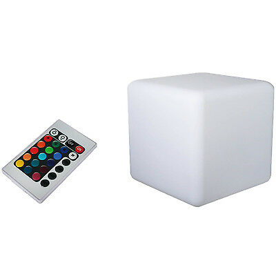LED Colour Changing Light Cube Lamp Dynamic Bedroom Night Indoor Glow Lighting