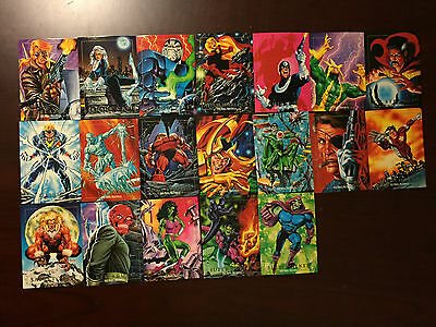 1992 Marvel Universe Series 3 Cards - Impel SkyBox - $.99 each - message me
