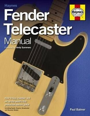 Fender Telecaster Manual by Paul Balmer Paperback Book