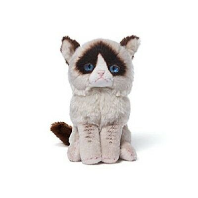 A Little Grumpy Cat Stuffed / Plush Beanbag  - Enesco