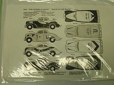 1940's stock car decals for 40 Ford  THE FATHERS OF RACING FORD 3940