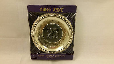Vintage 'Queen Anne' 25th Anniversary Tarnish Resistant Silverplate. England