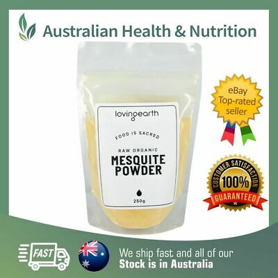 Loving Earth - Organic Raw Mesquite Powder - Vegan & Fair Trade + Sample