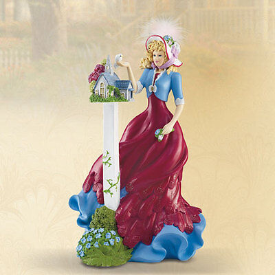 The Forest Chapel Lady Figurine Thomas Kinkade Ladies of Light