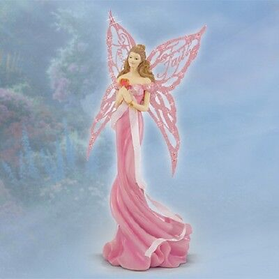 Faith Thomas Kinkade Fairy Figurine Wings of Hope Bradford Exchange
