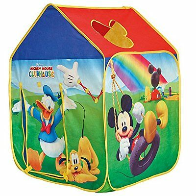 Getgo Mickey Mouse Wendy House Play Tent Toy Game Kids Play Gift Promotes Physi