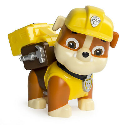 Spinmaster Paw Patrol Jumbo Action Pup Rubble Character Childrens Figure Toy New